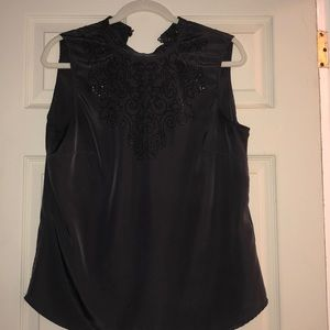 Pretty H&M silky tank with buttons